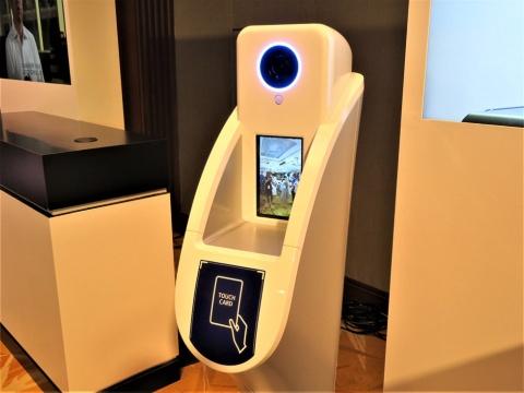 顔認証システム「NeoFace」の機器