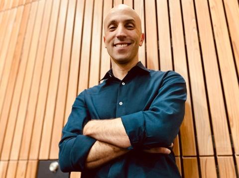 ダニエル・ラモットCEO。9月に自動車新聞社「LIGARE」主催のセミナーで講演を行った