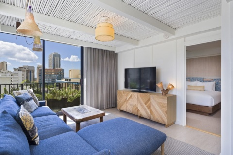 星野リゾート サーフジャック ハワイの客室イメージ(画像提供/星野リゾート)