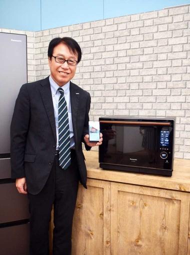 パナソニック アプライアンス社副社長兼キッチン空間事業部長の堂埜茂氏。食の「くらしアップデートサービス」をリードする
