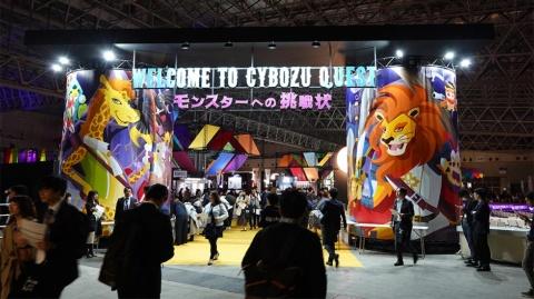 大勢の来場者でにぎわった「Cybozu Days 2019 モンスターへの挑戦状」。12月5、6日には大阪でも開催される