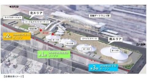高輪ゲートウェイ駅に無人AI決済店 未来消費カレンダー新着情報(画像)