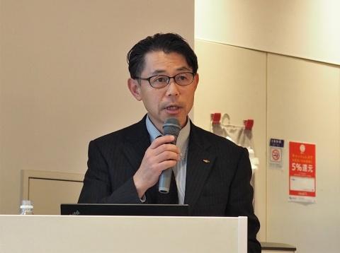 長野県山岳高原観光課課長の塩原一正氏。行政の側から県内観光地の活性化を支援している