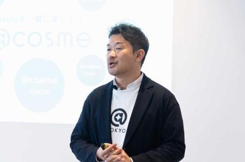 アイスタイルの吉松徹郎社長兼CEO