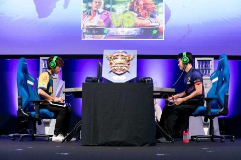 19年9月に東京ゲームショウ2019の会場で開催された「CAPCOM Pro Tour 2019 アジアプレミア」の様子