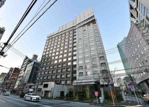三井ガーデンホテル六本木プレミア外観