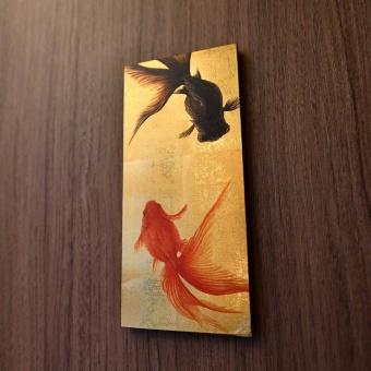 かつて六本木では金魚の養殖が盛んに行われていたという。客室内にも金魚のイラストが飾られている。手掛けたのはイラストレーターの木原未沙紀氏