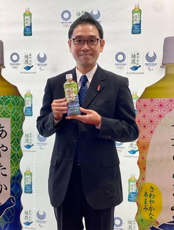 日本コカ・コーラマーケティング本部ティーカテゴリ緑茶グループグループマネジャーの助川公太氏