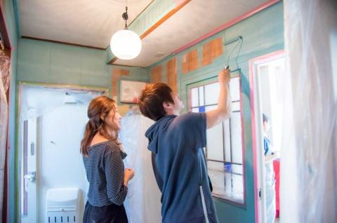 DIY可の物件は、壁のリフォームなども可能-