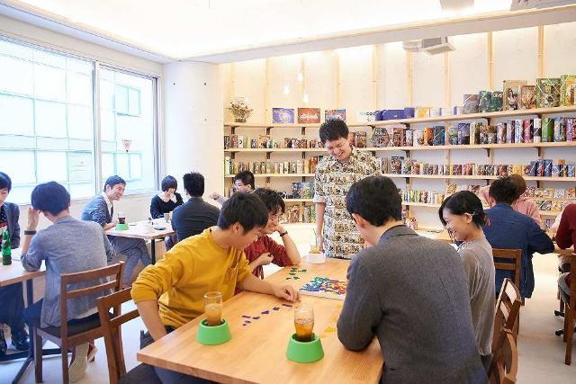 ボード ゲーム カフェ 大阪