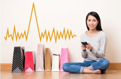 グーグルが発表した「パルス型消費行動」は、従来の「ジャーニー型消費行動」が全く当てはまらない、スマホ世代の消費行動だ(写真/Shutterstock)