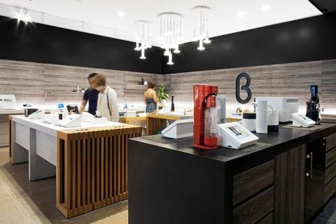 b8taが運営する体験型店舗。スタートアップ企業やD2Cブランドが出品する最先端のテクノロジーやユニークな商材との出合いを体験できる場となっている