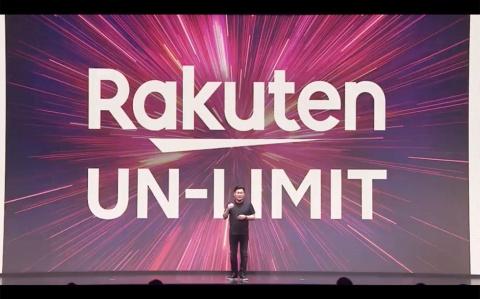 楽天モバイルは、4月8日に料金プラン「Rakuten UN-LIMIT」を打ち出し、携帯電話事業に本格参入した。写真は2020年3月3日に実施したオンライン発表会の様子