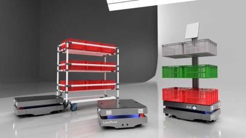 LexxPlussが構想しているオープンソース自動搬送ロボットのイメージ