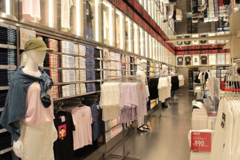 UT売り場では販売中の全商品を購入できる