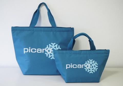 フランス発の冷凍食品専門店「Picard(ピカール)」の新バッグは、保冷機能を強化した