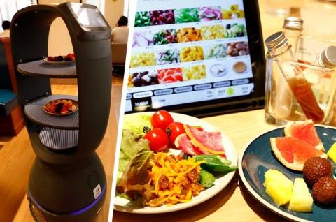 ロボットが料理を運ぶ、未来型店舗が2020年7月にオープン
