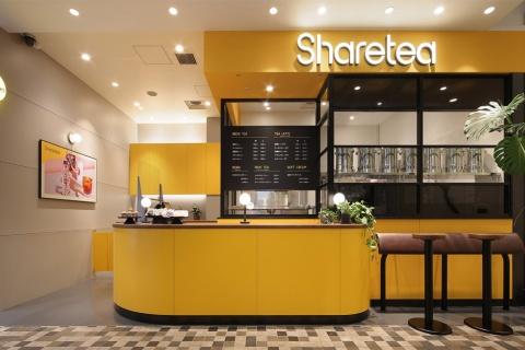 東京・新宿マルイ本館の1階にオープンした台湾茶専門店「シェアティー」の店舗