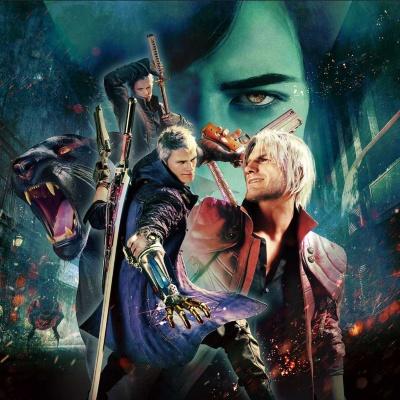 発表されたタイトルの1つ、カプコンの『デビル メイ クライ 5 スペシャルエディション』。PS5と同時発売を予定している
