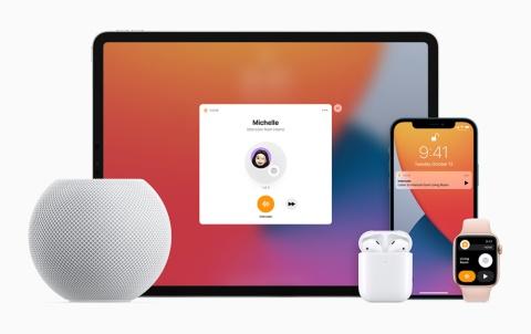 HomePod miniで利用できるインターコム機能。他のアップル製デバイスに音声のメッセージを簡単に送ることができる
