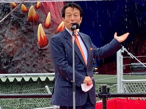 パソナグループ代表の南部靖之氏