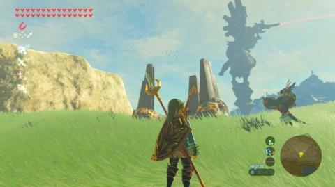 今では大作ソフトも、発売後に追加シナリオ・追加マップをリリースし、長期的にプレーしてもらうモデルに変化している。写真は『ゼルダの伝説 ブレス オブ ザ ワイルド』(c)2017 Nintendo