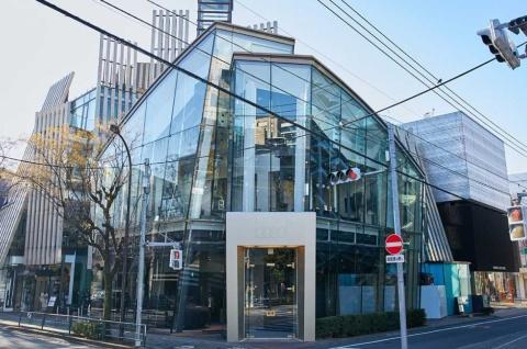 ブランドストア「Audi House of Progress Tokyo」外観