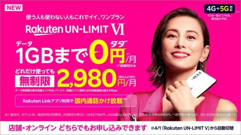 2020年9月末の発表から4カ月、Rakuten UN-LIMIT Vは4段階設定のVIへと進化した