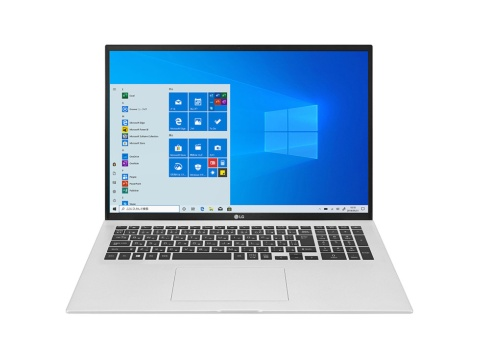 LGエレクトロニクス・ジャパンの17型ノートPC、LG gram 「17Z90P-KA79J」。CPUにインテルCore i7、16GBのメインメモリー、1TBのSSDなどを搭載する