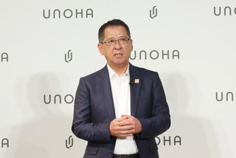 「今後、ユニセックスラインの立ち上げや海外進出も視野に入れている」と語る千田伸二常務執行役員