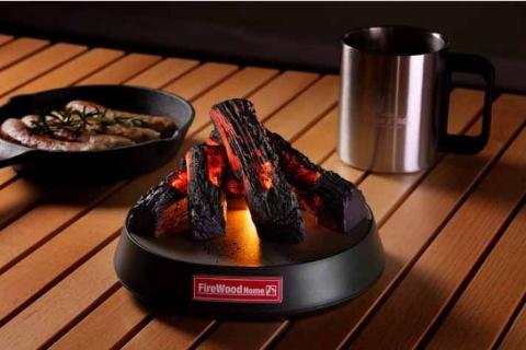 火を使わない「たき火ガジェット」 未来消費カレンダー新着情報(画像)