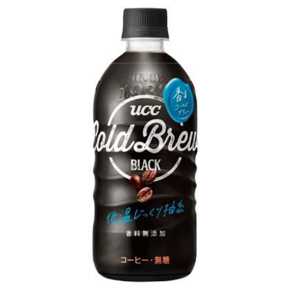 UCC上島珈琲のペットボトル入りコーヒー「UCC COLD BREW BLACK PET500ml」