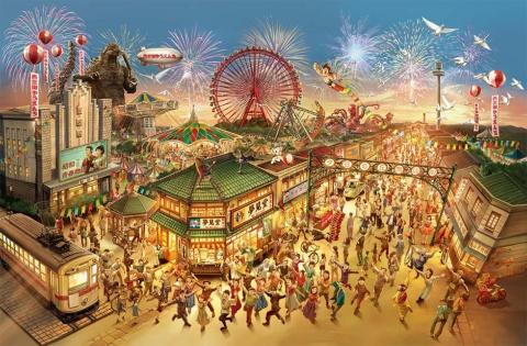"""新・西武園ゆうえんちのテーマは、1960年代をイメージした""""あの頃の日本"""""""