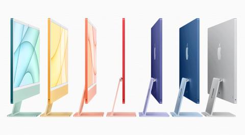 アップル新製品、極薄・軽量のiMacにM1搭載iPad Pro(画像)