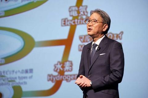 2021年4月1日にホンダの社長に就任した三部敏宏氏