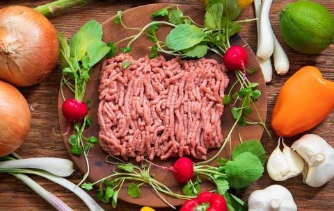 植物肉「Green Meat」をミンチ状にしたもの(写真提供/グリーンカルチャー)