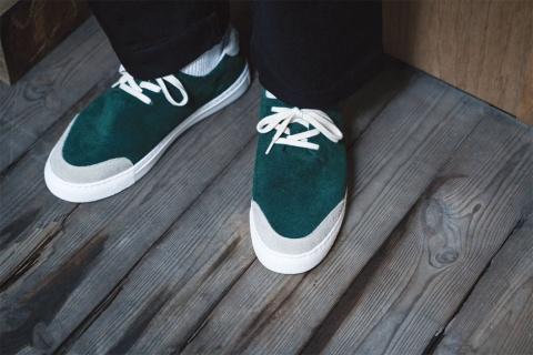 オリエンタルシューズが革靴職人のスキルを生かして立ち上げたスニーカーブランド「TOUN」