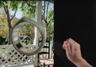 指輪の向きや傾きを正確に、高速に捉えられる