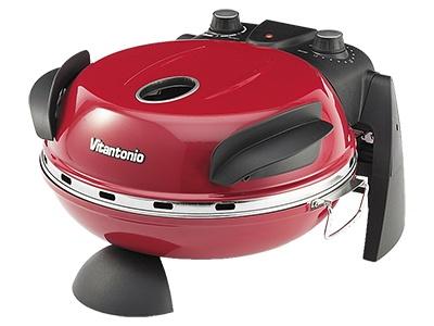 400℃の高温でピザなどを焼ける円形卓上オーブン(画像)