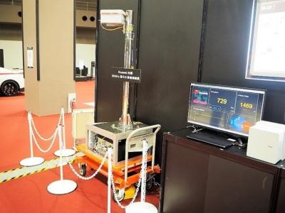 NTTドコモはファーウェイと5Gに関する実証実験を進めていたが、今後の動向が不透明になってきている。写真は2018年12月7日のDOCOMO Open House 2018より