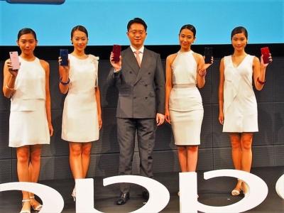 「R11s」以降、日本市場向け新製品の発表がなかったオッポだが、8月14日に新モデル「R15 Pro」「R15 Neo」の2機種を発表した。写真は8月22日のオッポ ジャパン新製品記者発表会より