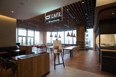 一般利用できるカフェスペース(約100席)