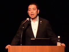 サンヒルズの林祥裕社長が、そのコンセプトと事業内容を説明