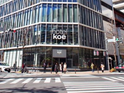 渋谷公園通りの交差点に面した角地にオープンした「ホテルコエ トーキョー」はブランド「コエ」のグローバル旗艦店でもある。総店舗面積454坪