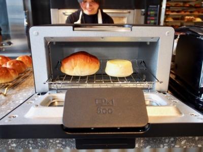 バルミューダのトースターで温め直せば、焼きたてのようなふっくらとした食感に