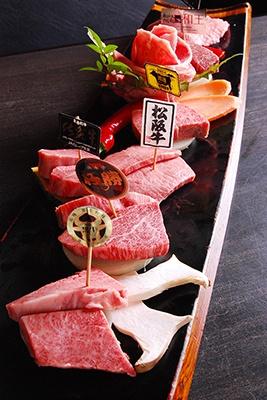 「肉や大善」は高品質の和牛が売りの焼肉店。本拠地の愛知県知立市以外では初出店