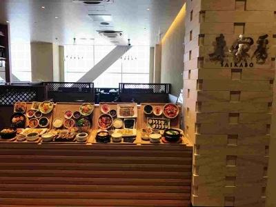 「韓国ごはん SAIKABO」。ここではファミリー向けに韓国の家庭料理を手軽に楽しめる定食スタイルのセットメニューを中心に提供するとのこと