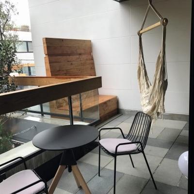 スタンダードプラスはハンモック付きの客室と広々としたロフト付きの2タイプがある
