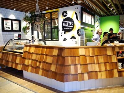 鎌倉本店の人気アイスキャンデー店「パレタス」が関西初進出。旬の果物を果汁やジェラート、ヨーグルトに閉じ込めたフルーツフローズンバーが常時20種類以上ラインアップ