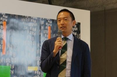 「渋谷を代表する場所になって欲しい」と期待を寄せる長谷部健渋谷区長
